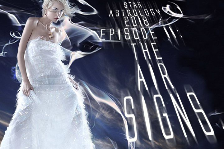 Fabrics by zodiac signs: air