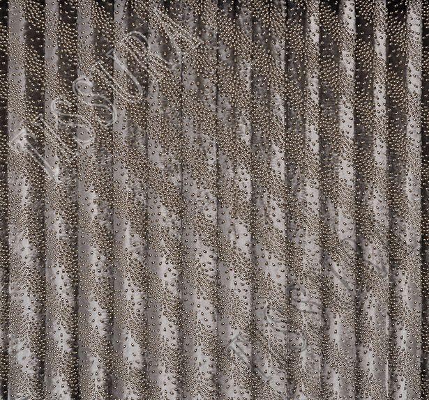 Metal Rivet Faux Fur #3