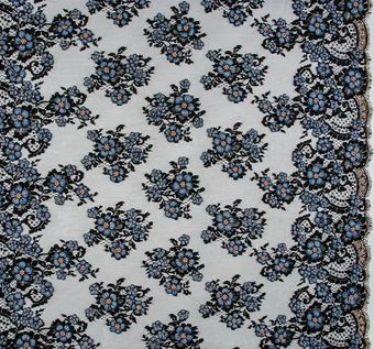 Exclusive Beaded Corded Lace #1