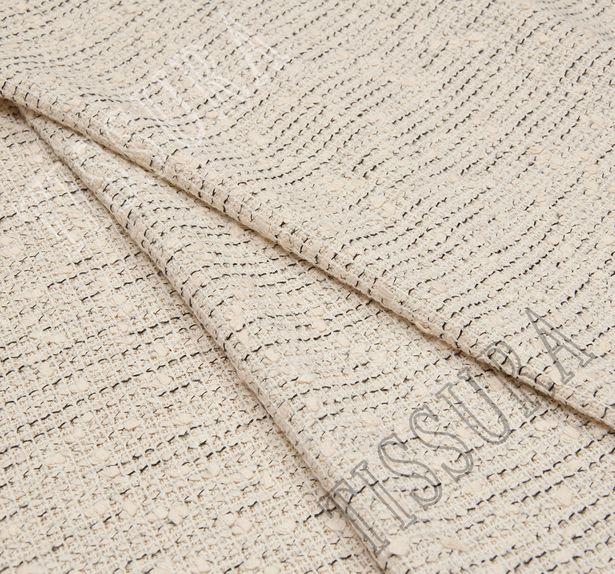 Tweed Boucle with Rhinestone Border #3