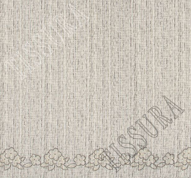 Lace Appliqued Tweed Boucle #3