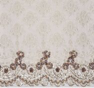 Sequined Ribboned Lace#1