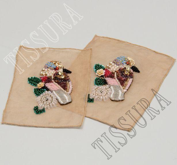 Sequin & Bead Patch #4