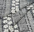 Embroidered Crepe de Chine #1
