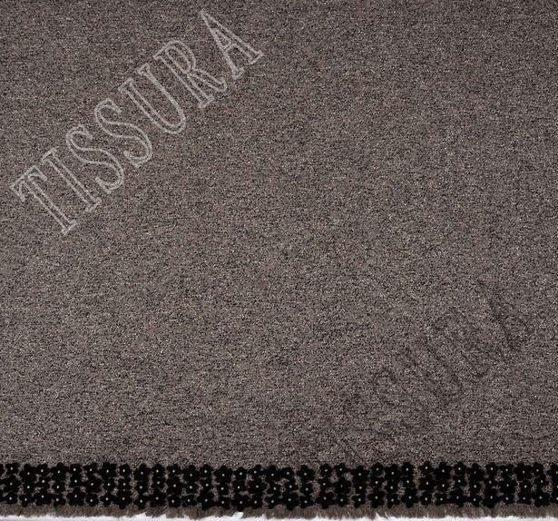 Embroidered Wool Tweed #1