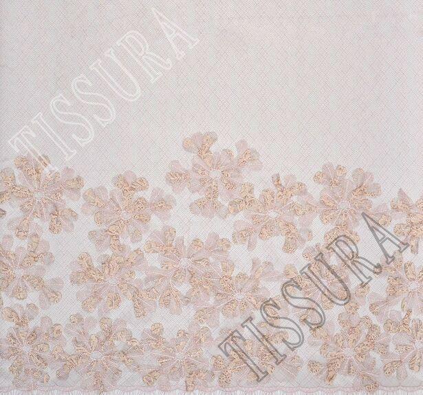 Floral Applique Tulle #3