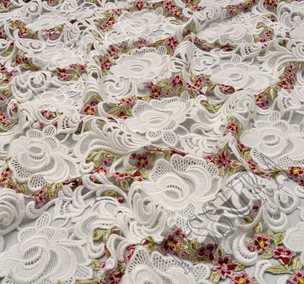 Haute Couture Guipure Lace #4