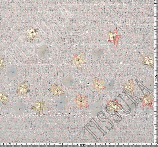 Embroidered Tweed Boucle #2