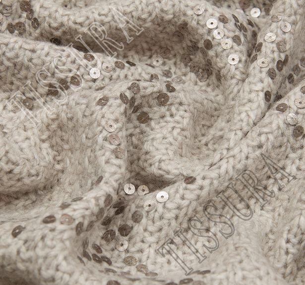 Sequined Wool Knit #4