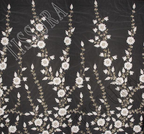 Swarovski Embroidered Tulle #3