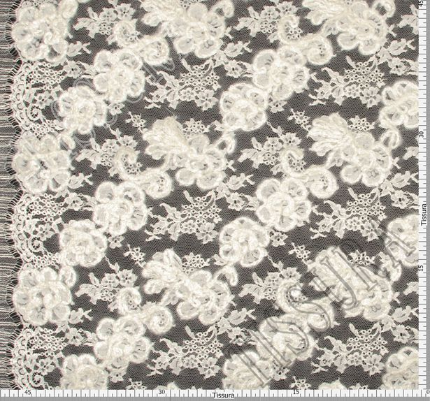 Heavy Corded Chantilly Lace #2