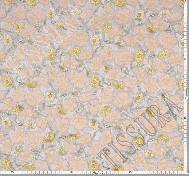 Floral Applique Embroidered Lace #2