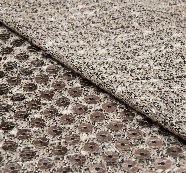Laser Cut Appliqued Tweed Boucle #4