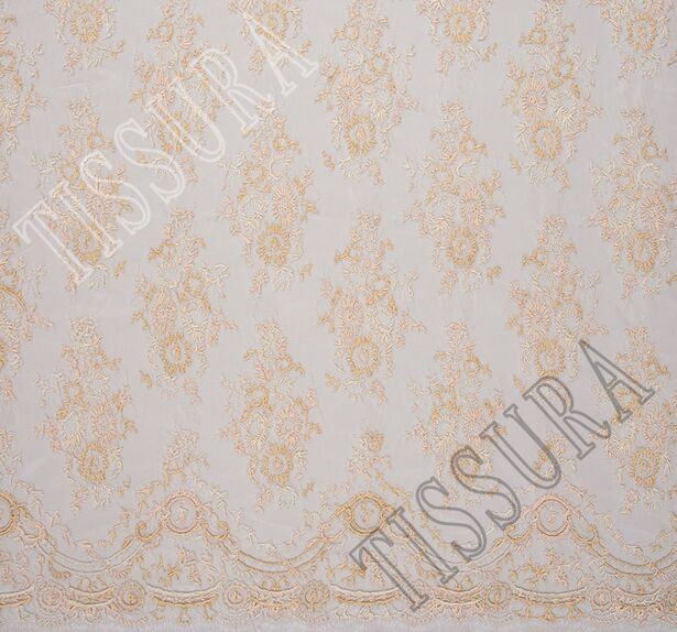 Corded Chantilly Lace #4