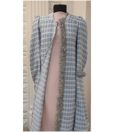 Chanel style boucle coat