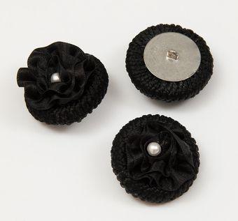Braided Button #1