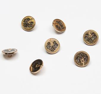Metal Button #1