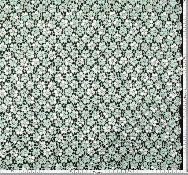 Sequined Guipure Lace #2