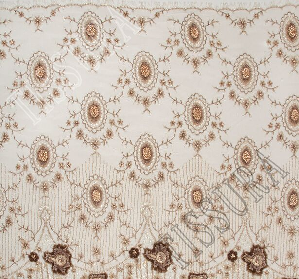 Embroidered Chantilly Lace #4