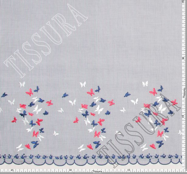 Embroidered Cotton Poplin #2