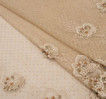 Embroidered Ribboned Lace/Tulle #1