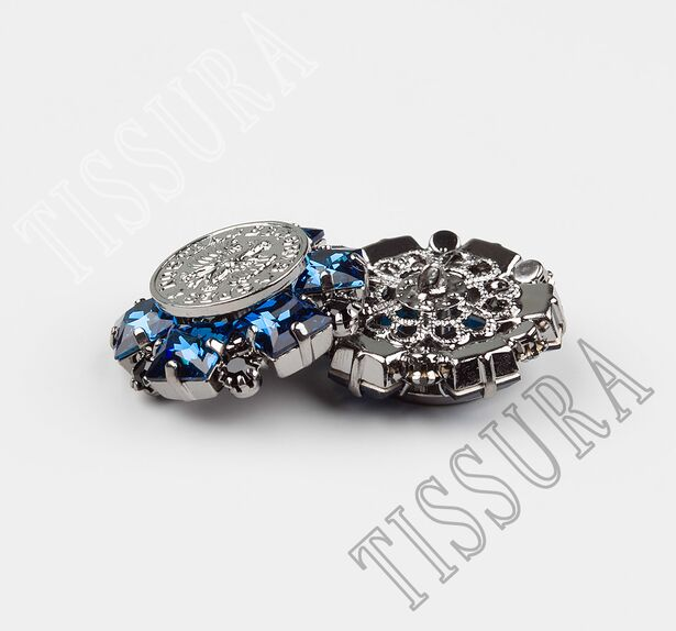 Rhinestone & Metal Buttons  #3
