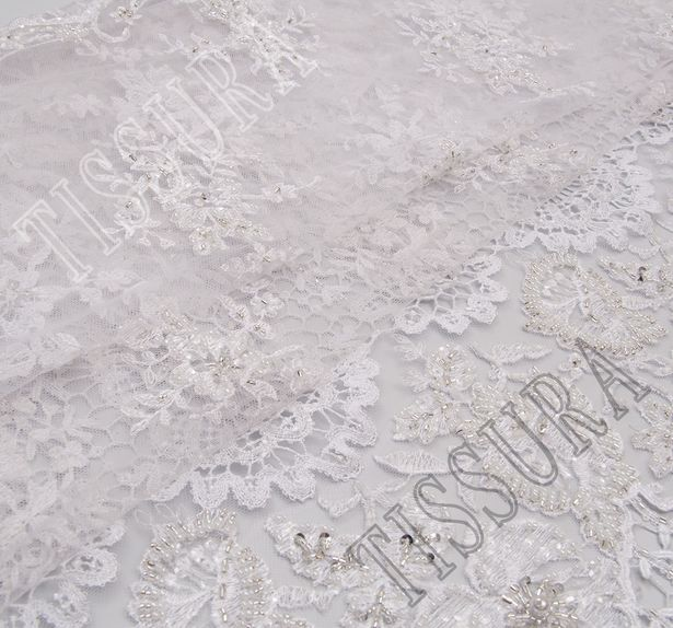 Embroidered Tulle Lace #1