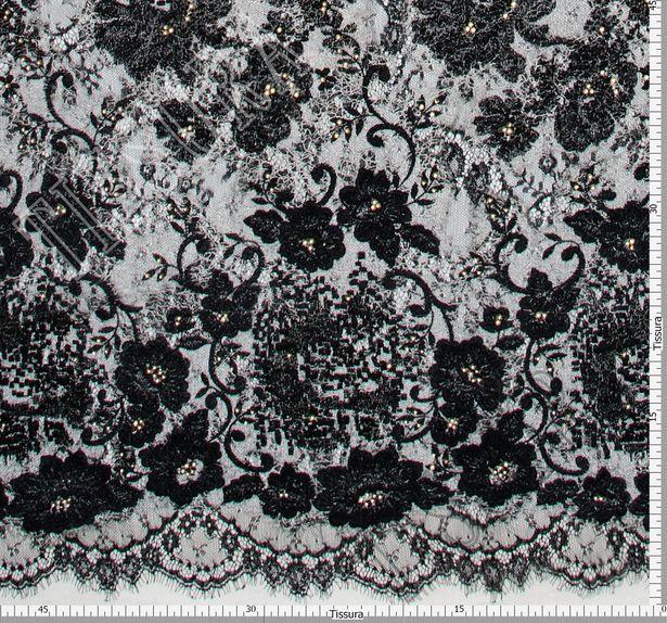 Swarovski Appliqued Chantilly Lace #2