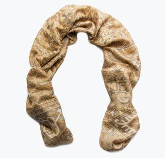 Wool, Mohair & Silk Scarf #1