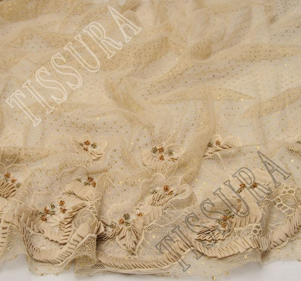 Embroidered Ribboned Lace/Tulle #4