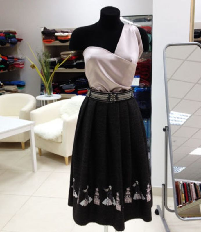 A Skirt With A Twist