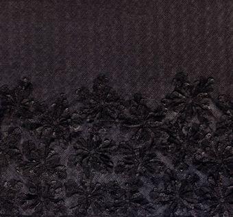 Floral Applique Tulle #1