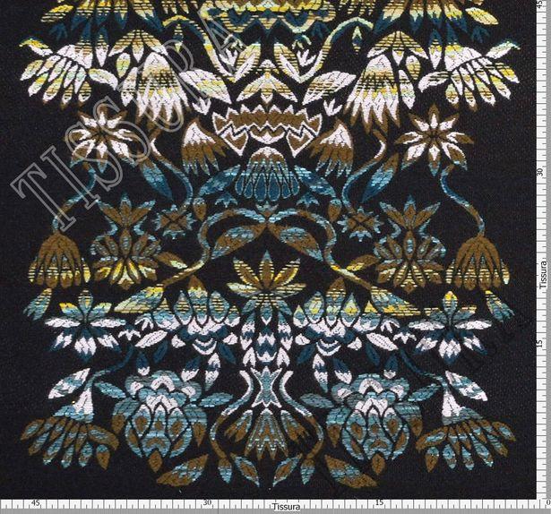 Wool Blend Jacquard #2