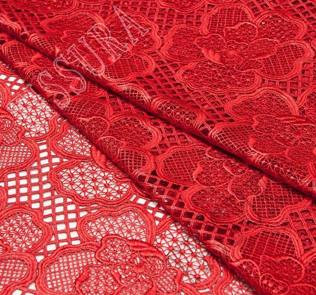 Glossy Guipure Lace #3