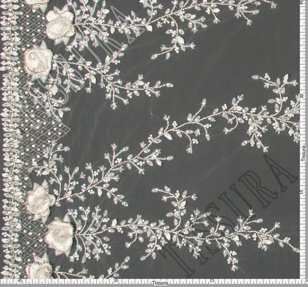 Sequined Embroidered Tulle #2
