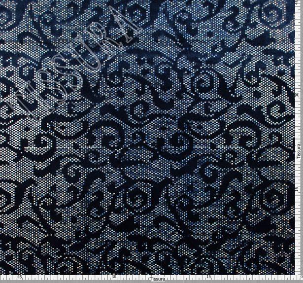 Foil Appliqued Velvet #2