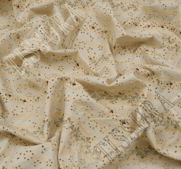 Embroidered Cotton Jacquard #4