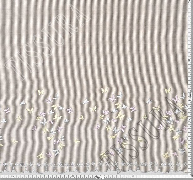 Embroidered Cotton Poplin #2