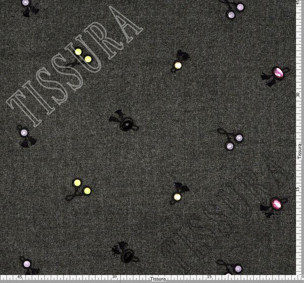 Swarovski Embroidered Tweed #2