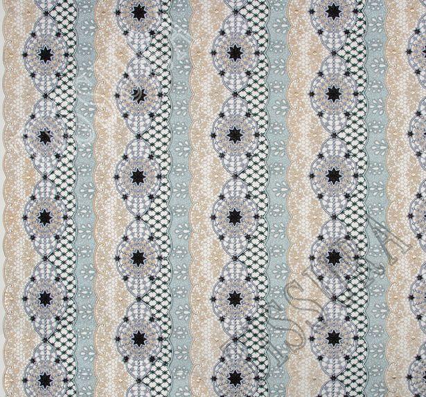 Metallic Guipure Lace #3