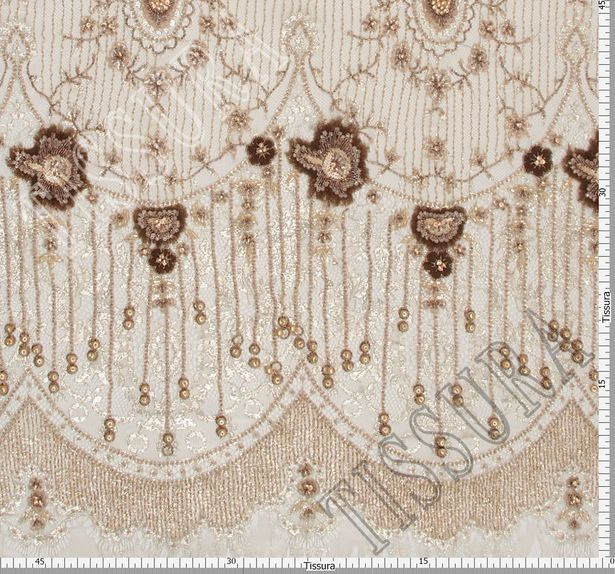 Embroidered Chantilly Lace #2