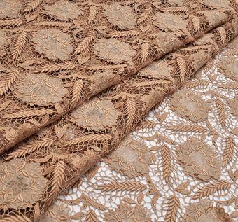 Swarovski Appliqued Guipure Lace #1