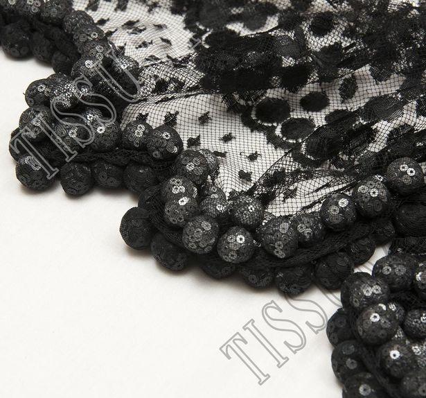 Sequin Ball Lace Trim #4