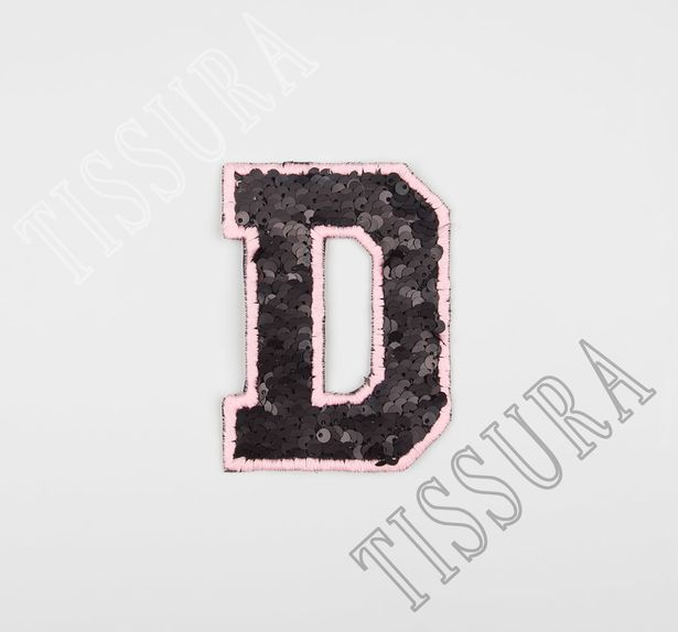 Sequin Embroidered Patch #1