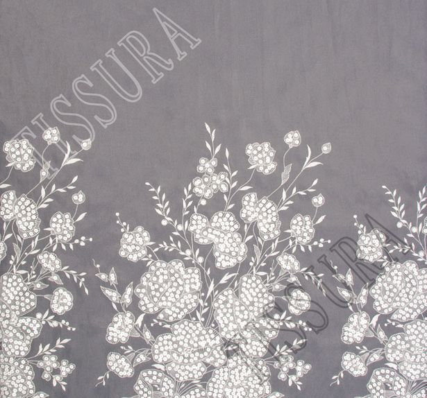 Sequined Embroidered Organza #3