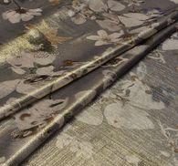 Metallic Silk Chiffon #3