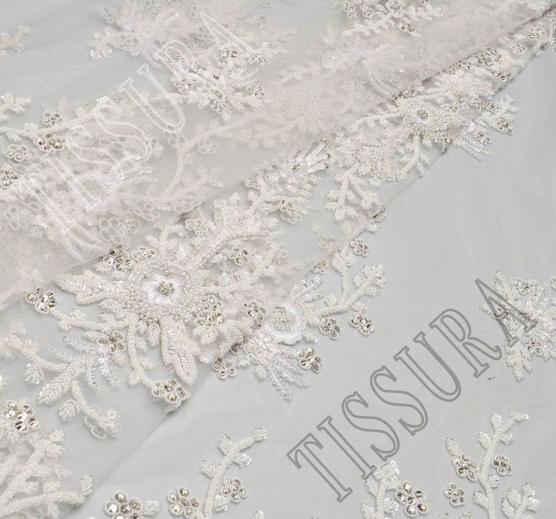 Haute Couture Fabrics with Sequins