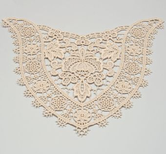 Tatted Lace Decollete Embellishment #1