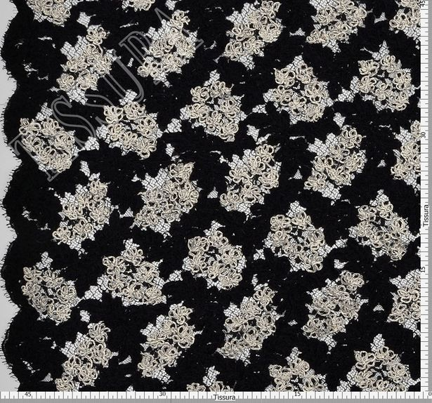 Embroidered Corded Lace #2