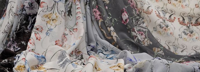 Italian Fabrics with Designer Prints